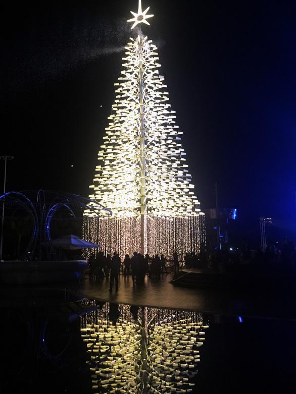 Cây thông cao nhất Việt Nam bừng sáng dịp Noel - Ảnh 2.