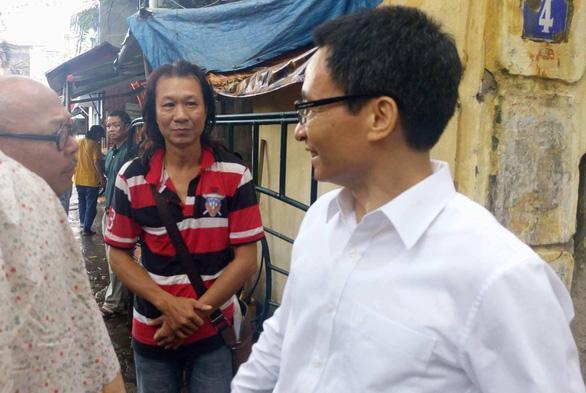 Phó thủ tướng Vũ Đức Đam bất ngờ thị sát Hãng phim truyện Việt Nam - Ảnh 3.