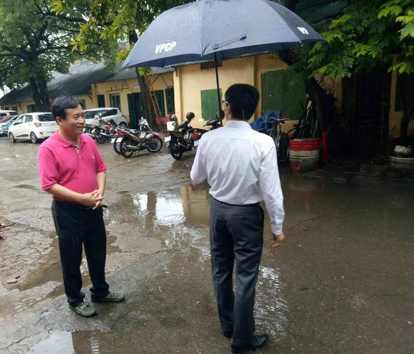 Phó thủ tướng Vũ Đức Đam bất ngờ thị sát Hãng phim truyện Việt Nam - Ảnh 4.