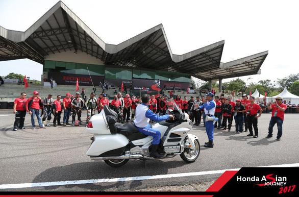 Honda Việt Nam tham gia hành trình châu Á Honda Asian Journey 2017 - Ảnh 2.