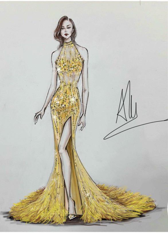 Trang phục dạ hội lộng lẫy của Mỹ Linh tại Miss World - Ảnh 4.