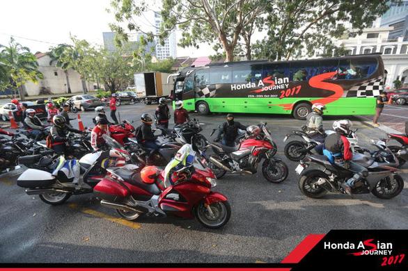 Honda Việt Nam tham gia hành trình châu Á Honda Asian Journey 2017 - Ảnh 5.
