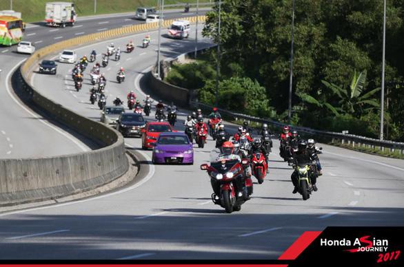 Honda Việt Nam tham gia hành trình châu Á Honda Asian Journey 2017 - Ảnh 7.
