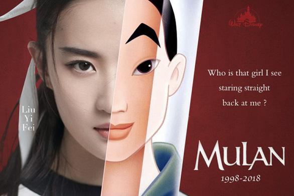 Disney chọn thần tiên tỷ tỷ Lưu Diệc Phi vào vai Hoa Mộc Lan - Ảnh 2.