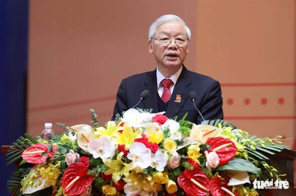 Tổng bí thư Nguyễn Phú Trọng: 'Tránh nhạt Đảng, khô Đoàn' - Ảnh 1.