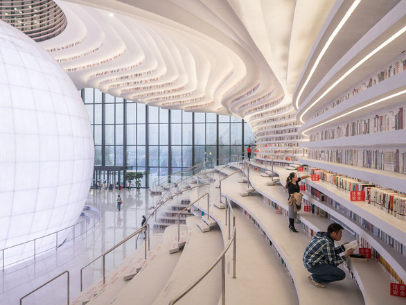 Ngắm thư viện độc đáo lưu giữ 1,2 triệu cuốn sách - Ảnh 5.