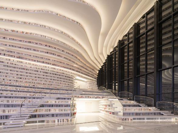 Ngắm thư viện độc đáo lưu giữ 1,2 triệu cuốn sách - Ảnh 8.