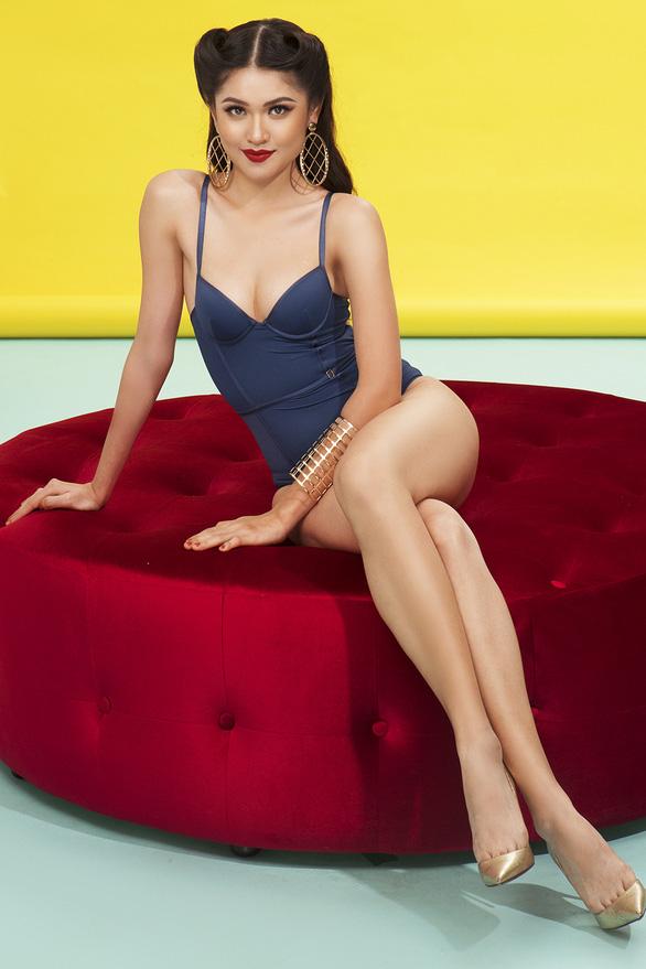Thuỳ Dung 'khoe hình thể chuẩn cho Hoa hậu quốc tế 2017 - Ảnh 6.