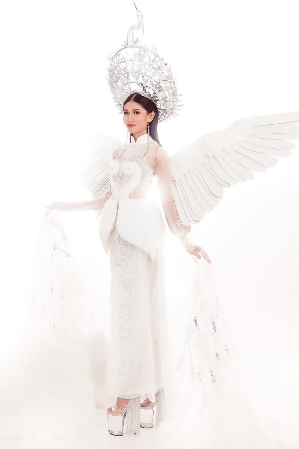 Ngắm trang phục dân tộc của Thùy Dung ở Miss International  - Ảnh 3.
