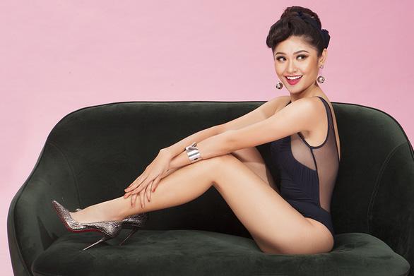 Thuỳ Dung 'khoe hình thể chuẩn cho Hoa hậu quốc tế 2017 - Ảnh 5.
