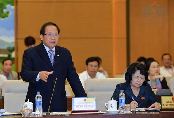 Bộ trưởng Trương Minh Tuấn mong sớm kết luận vụ Mobifone - AVG - Ảnh 1.