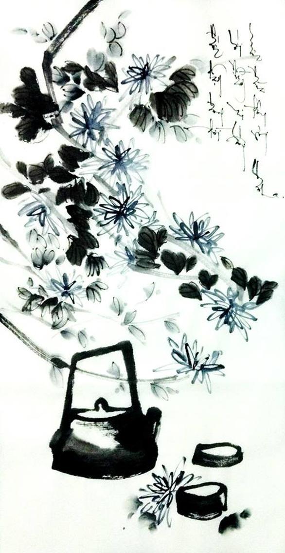 Xem tranh Am cỏ thơm của cô gái về từ Dharamsala - Ảnh 4.