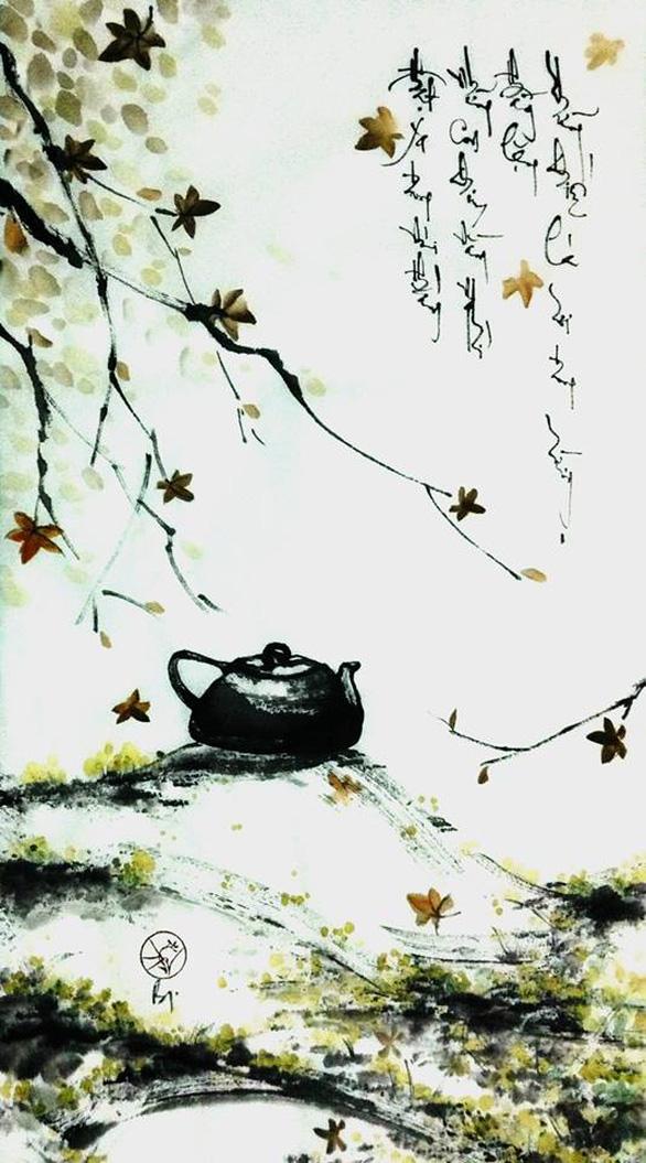 Xem tranh Am cỏ thơm của cô gái về từ Dharamsala - Ảnh 5.