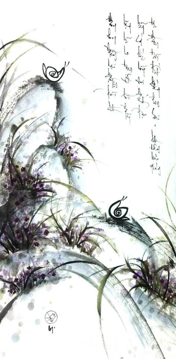 Xem tranh Am cỏ thơm của cô gái về từ Dharamsala - Ảnh 7.
