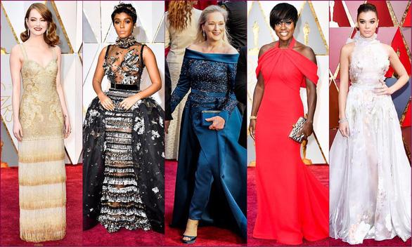 10 bộ váy Oscar được săn lùng nhiều nhất trên mạng năm 2017 - Ảnh 12.