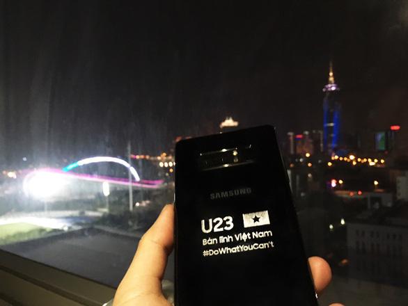 Samsung Vina tặng đội tuyển U-23 VN phần quà trị giá 1,2 tỉ đồng - Ảnh 3.