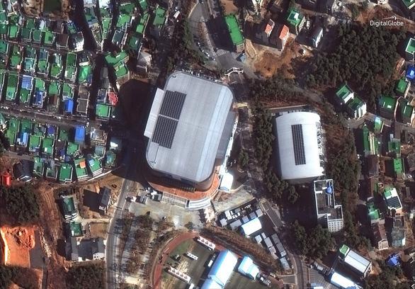 Ngắm ảnh vệ tinh các địa điểm Olympic mùa đông Pyeongchang - Ảnh 2.