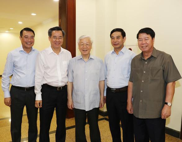 Giới thiệu Tổng bí thư Nguyễn Phú Trọng để Quốc hội bầu làm chủ tịch nước - Ảnh 1.