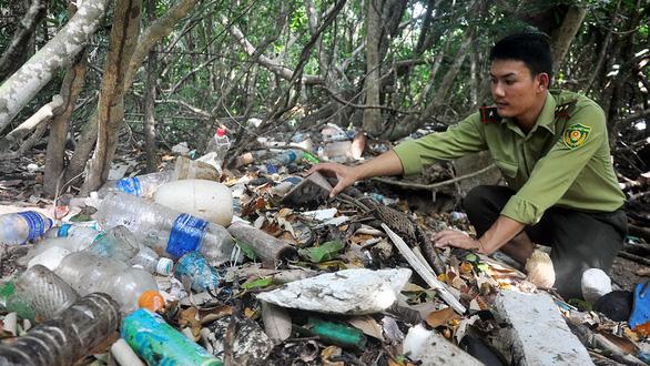 Rác thải nhựa đổ ra biển: ô nhiễm trắng! - Ảnh 3.
