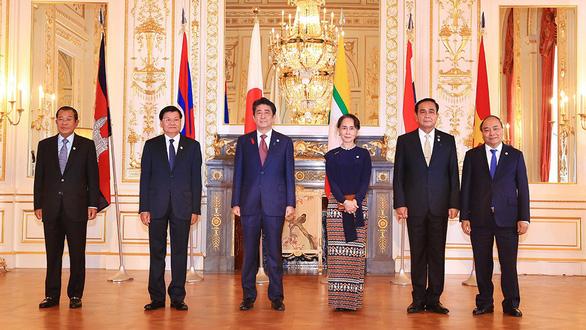 Hội nghị cấp cao Hợp tác Mekong - Nhật Bản thông qua Chiến lược Tokyo 2018 - Ảnh 1.