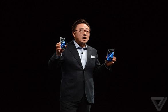 Điện thoại gập được của Samsung sẽ như máy tính bảng bỏ túi - Ảnh 1.