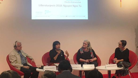 Nhà văn Nguyễn Ngọc Tư nhận giải ở Đức: Từ những thì thầm - Ảnh 1.