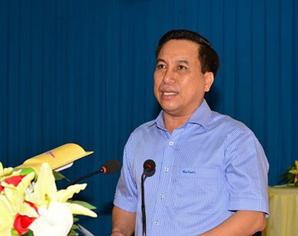 Cách chức Chủ tịch thành phố Trà Vinh - Ảnh 1.