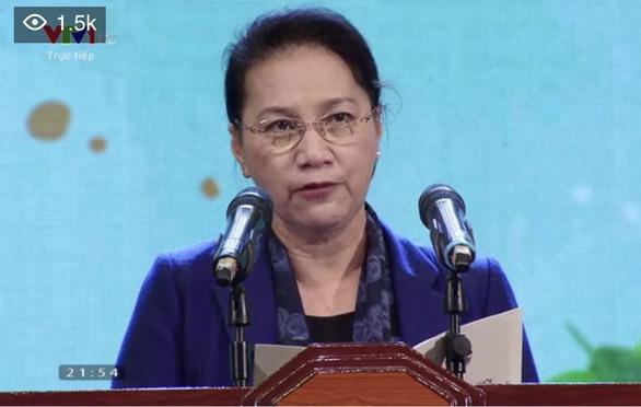 Chủ tịch Quốc hội kêu gọi nhắn tin ủng hộ người nghèo - Ảnh 1.