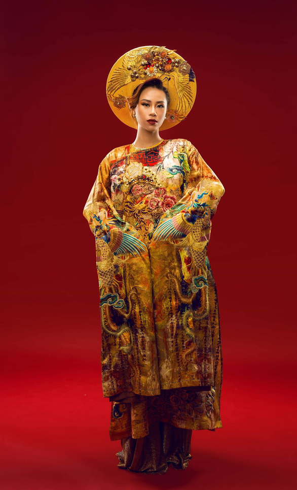 Á hậu Yến Nhi lên đường dự thi Miss Globe 2018 - Ảnh 2.
