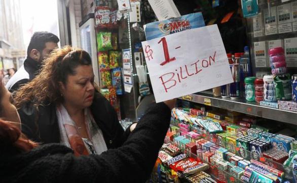 Xổ số jackpot ở Mỹ đạt kỷ lục 1,6 tỉ USD - Ảnh 1.