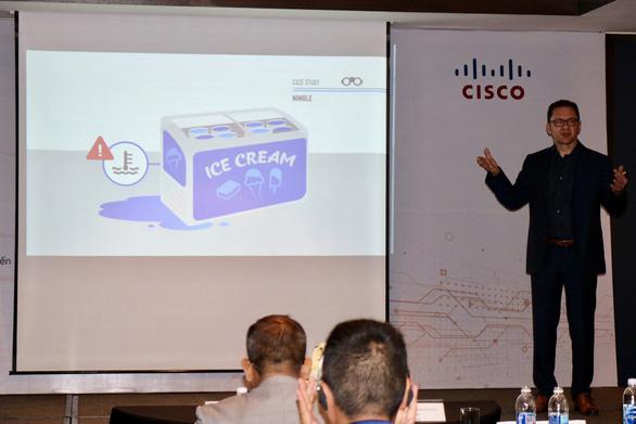 Phó chủ tịch Cisco: Ứng dụng IoT, doanh nghiệp hãy đi từ vấn đề của mình - Ảnh 1.