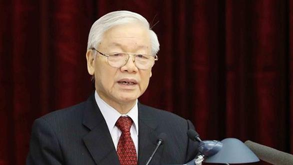 Giới thiệu Tổng Bí thư Nguyễn Phú Trọng để Quốc hội bầu Chủ tịch nước - Ảnh 1.