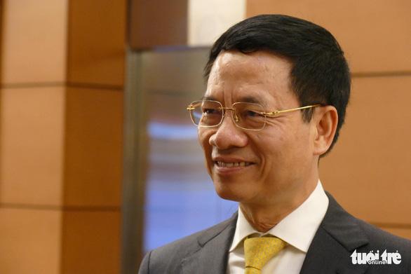 Đề nghị phê chuẩn ông Nguyễn Mạnh Hùng làm bộ trưởng Thông tin truyền thông - Ảnh 1.