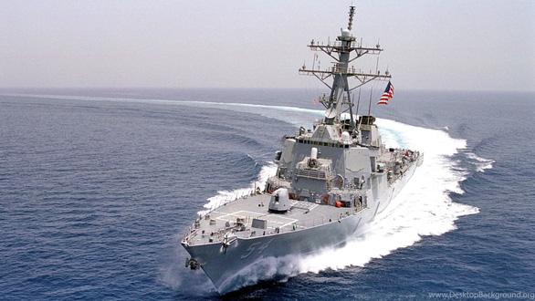 Hai tàu chiến Mỹ tiến qua eo biển Đài Loan - Ảnh 2.