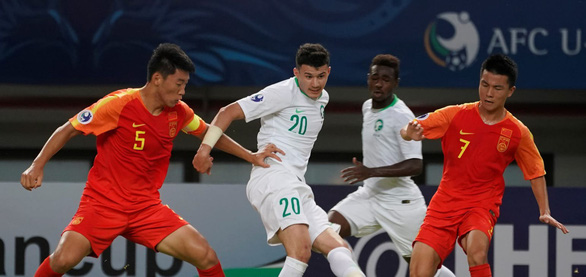Bóng đá trẻ Trung Quốc lại thất bại ở giải châu Á - Ảnh 1.