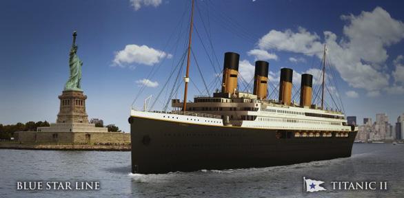 Titanic 2 sắp có hành trình lịch sử như chuyến đi xưa - Ảnh 1.