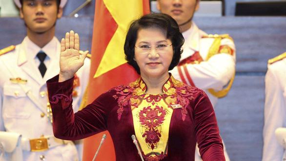 Bà Nguyễn Thị Kim Ngân đứng đầu trong cả 3 lần lấy phiếu tín nhiệm - Ảnh 1.