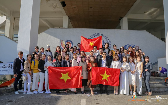 Việt Nam đạt ngôi Á quân cuộc thi Thẩm mỹ – Làm đẹp tại Hàn Quốc - Ảnh 1.
