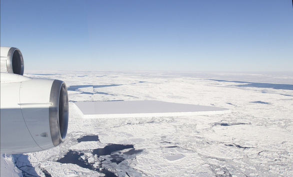 Tảng băng A68 gây bão mạng có chị em sinh đôi - Ảnh 3.
