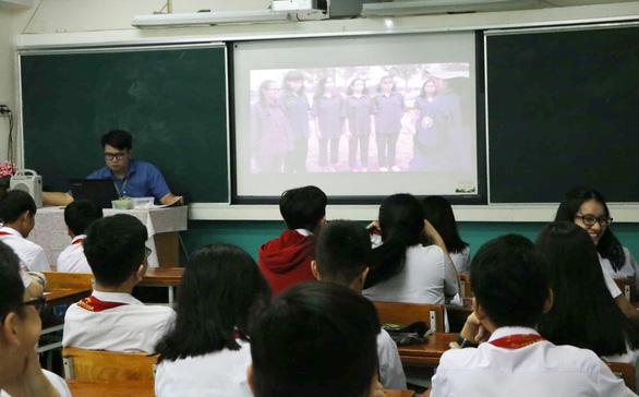 Học sinh cấp 2 làm phim để… học văn - Ảnh 1.