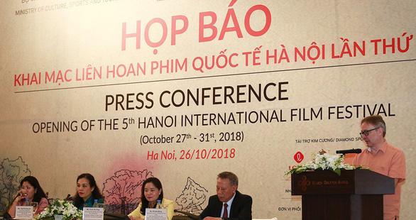 Ngôi sao phim Chúa nhẫn dự Liên hoan phim Quốc tế Hà Nội 2018 - Ảnh 2.