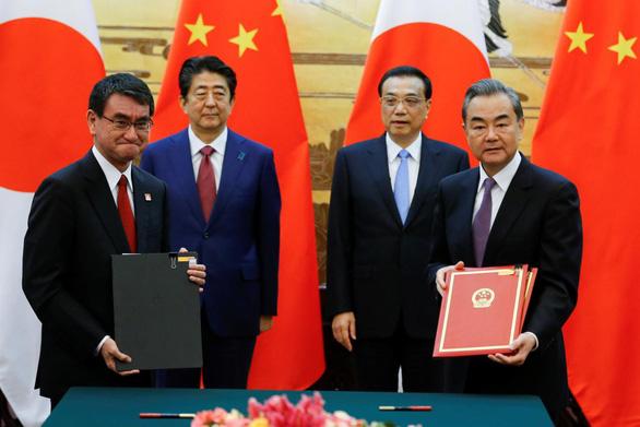 Trung - Nhật ký thỏa thuận 30 tỉ USD tại 'bước ngoặt lịch sử' - Ảnh 1.