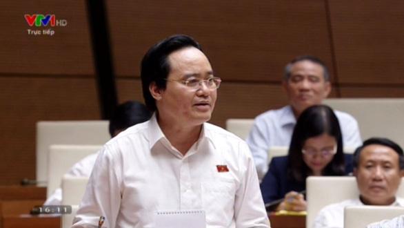 Bộ trưởng Phùng Xuân Nhạ: Kỳ thi nào cũng vi phạm, cũng có vấn đề - Ảnh 3.
