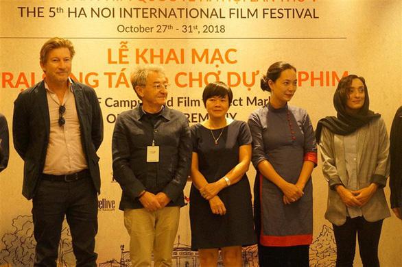 Đạo diễn Nhuệ Giang, Nguyễn Hoàng Điệp đứng lớp ở HANIFF - Ảnh 4.