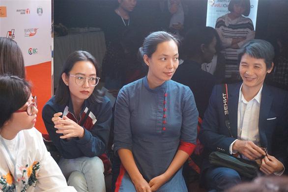 Đạo diễn Nhuệ Giang, Nguyễn Hoàng Điệp đứng lớp ở HANIFF - Ảnh 3.