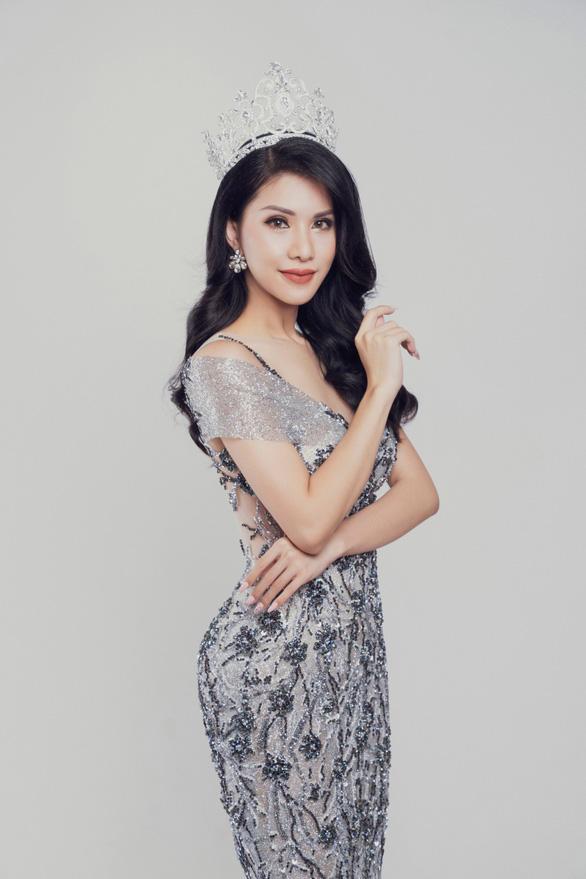Tiếp viên hàng không VN thi Hoa hậu quý bà quốc tế 2018 - Ảnh 2.