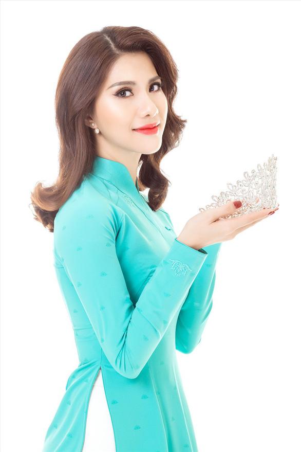 Tiếp viên hàng không VN thi Hoa hậu quý bà quốc tế 2018 - Ảnh 3.