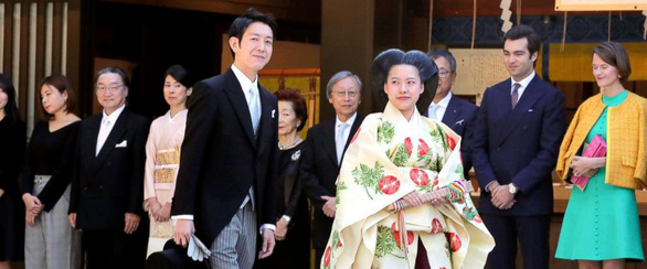 Hôm nay công chúa Nhật Bản lấy chồng là một thường dân - Ảnh 1.