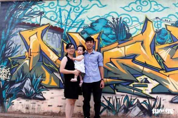 Con đường graffiti hút hồn bạn trẻ xứ Huế - Ảnh 4.