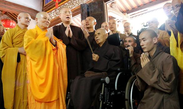 Thiền sư Thích Nhất Hạnh: Về nước để được sống nơi đất Tổ - Ảnh 4.